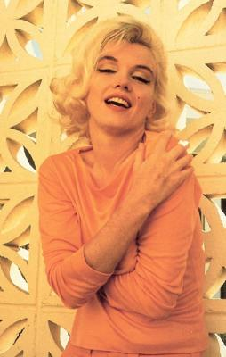 "from ""markbellinghaus.com - Marilyn Monroe in Orange Pucci shirt"