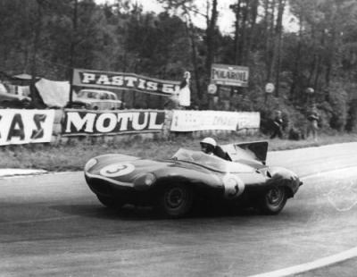 Jaguar D-Type circa 1957, From website www.classicrallies.com